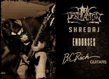 FMS members Dark Desolation Inks Endorsement With BC RICH Guitars