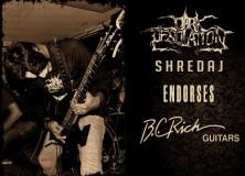 FMS members Dark Desolation Inks Endorsement With BC RICH Guitars