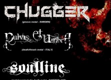 PULVIS ET UMBRA – supporting act for Swedish band CHUGGER