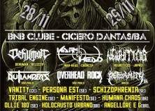 War-Head on Boqueirão Rock Metal Festival